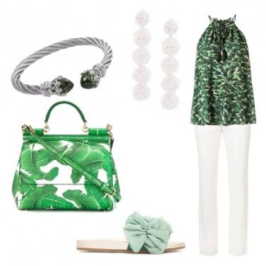 Outfit Tropical Chic