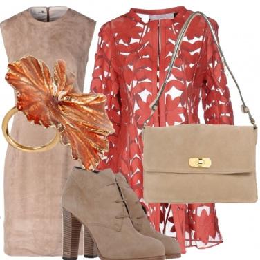 Outfit Cascata di foglie