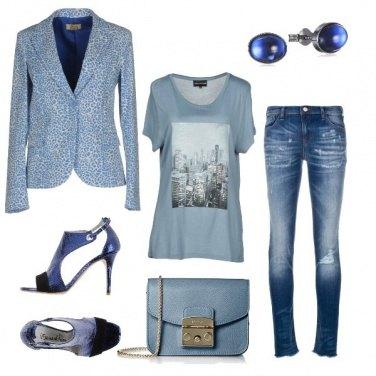 Outfit Jeans e via!