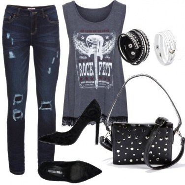 Outfit Rock & fashion