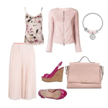 Outfit Total pink