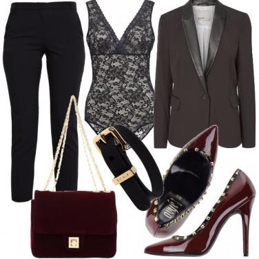 Outfit Sensualità ed eleganza