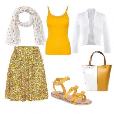 Outfit Gita tra campagna e città