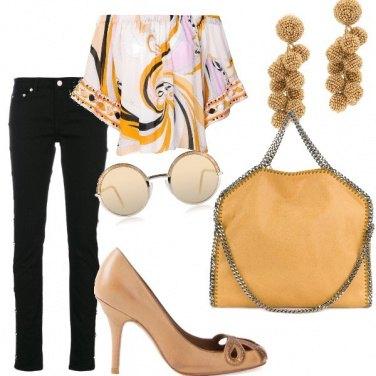 Outfit Blusa anni settanta