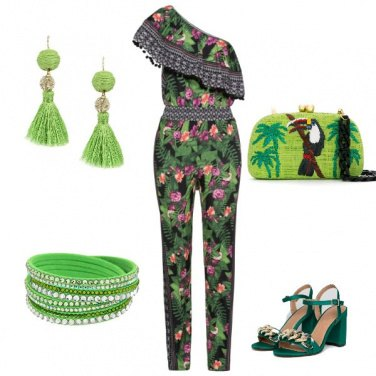 Outfit Tropical style