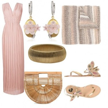 Outfit Al tramonto in rosa