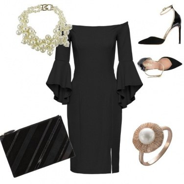 Outfit Prima a teatro, poi a cena