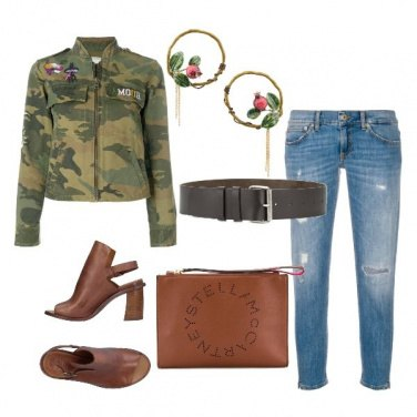 Outfit Military everyday