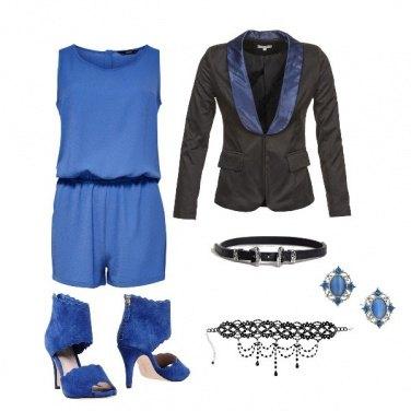 Outfit Tutina per la sera