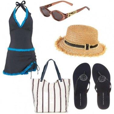 Outfit Basic, vita da spiaggia