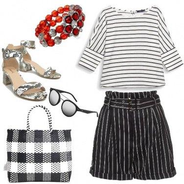 Outfit Trendy, viva il bianco e nero