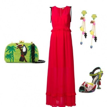 Outfit Rosso vincente