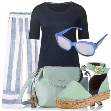 Outfit Azzurro e blu