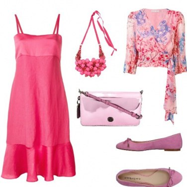 Outfit Rosa, rosarum, rosae...style
