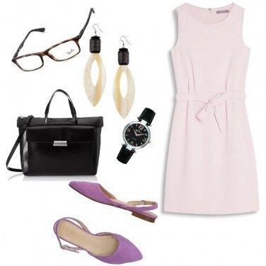 Outfit Bon Ton, classico incontro di lavoro