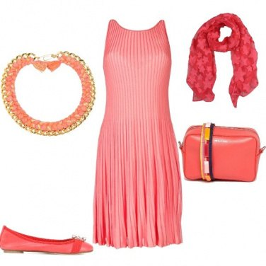 Outfit Pompelmo rosa style