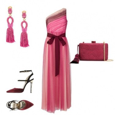 Outfit Fragola chic