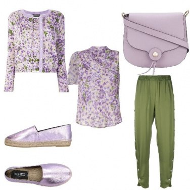 Outfit Glicine chic