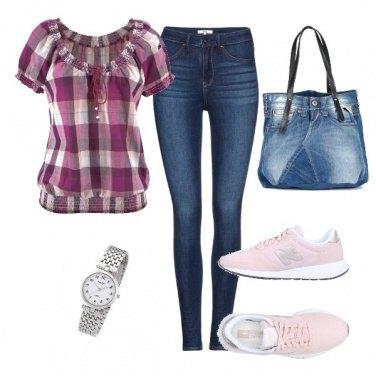 Outfit La borsa di jeans