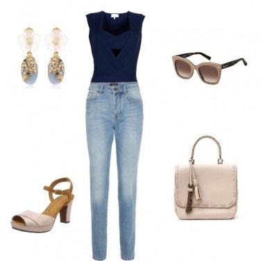Outfit Pronta per fare shopping