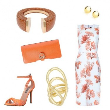 Outfit Coral summer