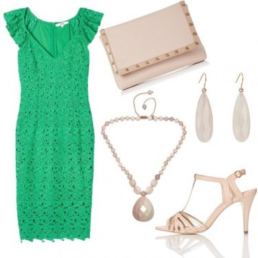 Outfit Find! Green&beige