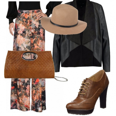 Outfit Bohemian autunnale