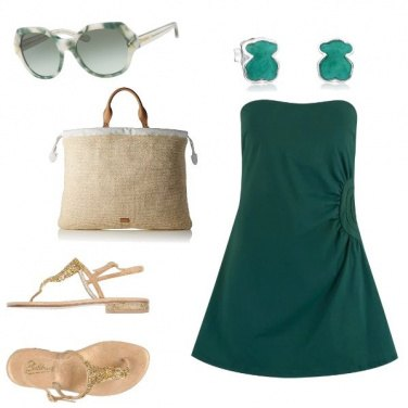 Outfit Romantic Green