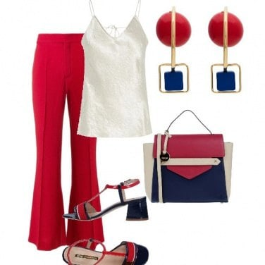 Outfit Rouge.