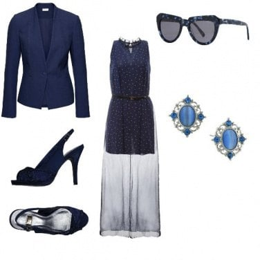 Outfit A night in blue