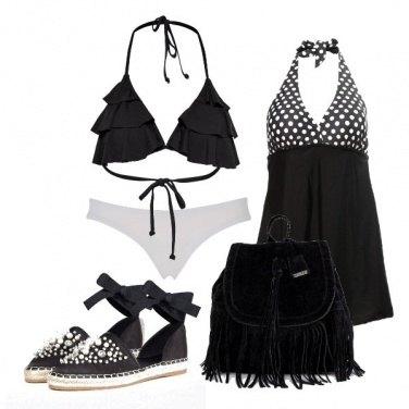 Outfit Fiocchetti e frange