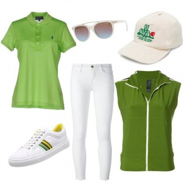Outfit Torneo di tennis look