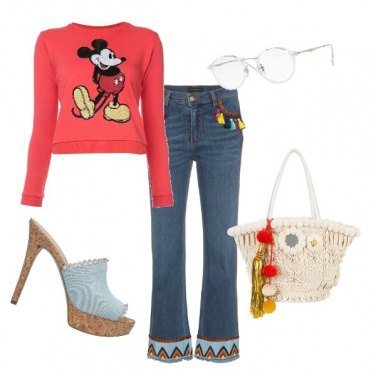 Outfit Nostalgia di Mickey mouse