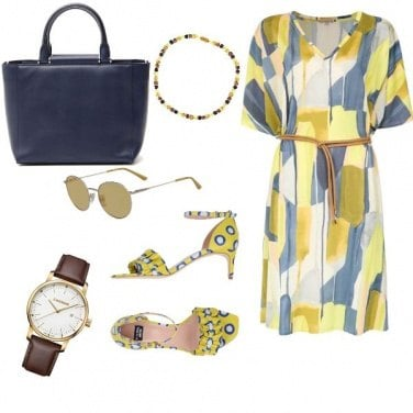 Outfit Trendy, con effetto vintage