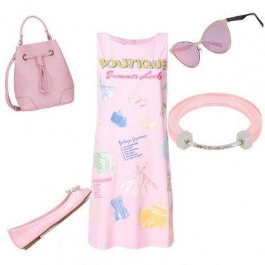 Outfit Quattro sfumature di rosa