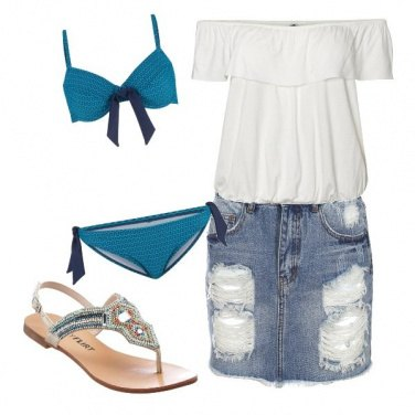 Outfit On the beach...