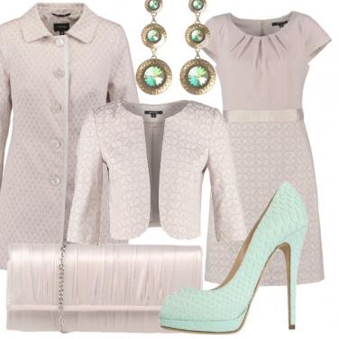 Outfit Cerimonia dai toni pastello