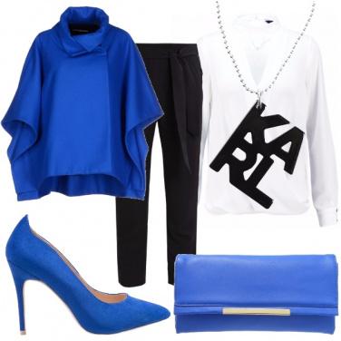 Outfit Mantella blu
