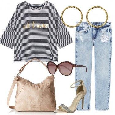Outfit Un tocco romantico