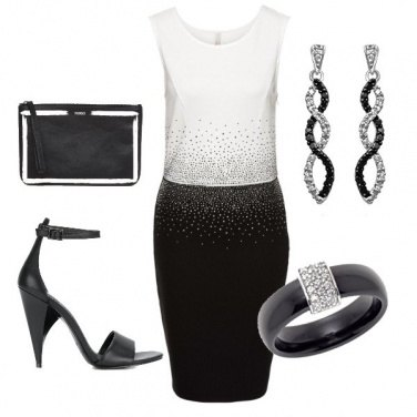 Outfit Intramonabile Black and White