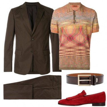Outfit Touch of color