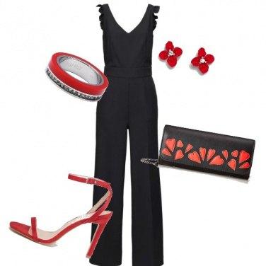 Outfit Piccoli dettagli di rosso