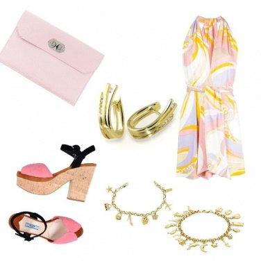 Outfit Pink in the Night