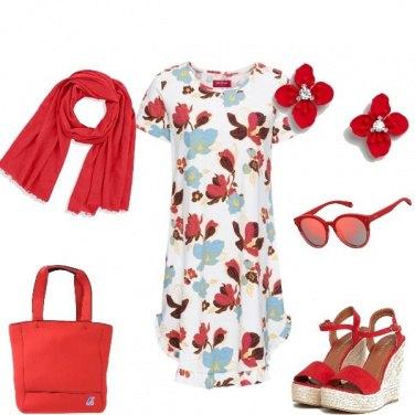 Outfit Leggera e fiorita