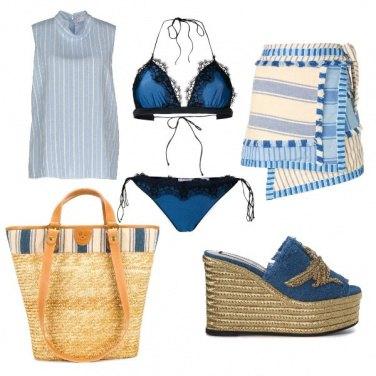 Outfit CMPS Al mare senza timore