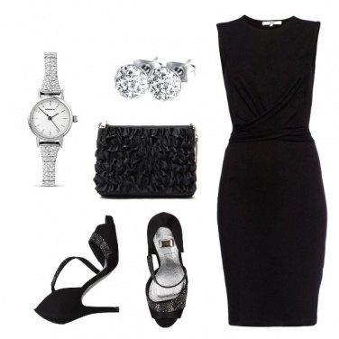 Outfit Nero luminoso