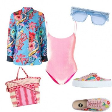 Outfit Hibiscus stile