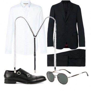 Outfit Le Bretelle chic