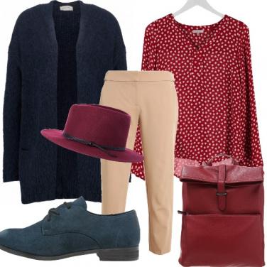 Outfit Domenica per i mercatini d antiquariato.