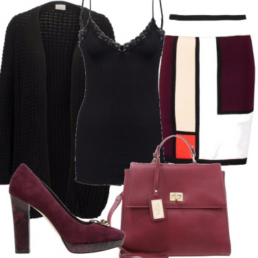 Outfit Mondrian style